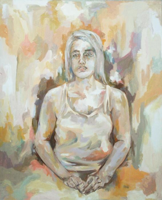 retidão (auto-retrato) (1 m x 80 cm)