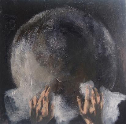 hands over moon