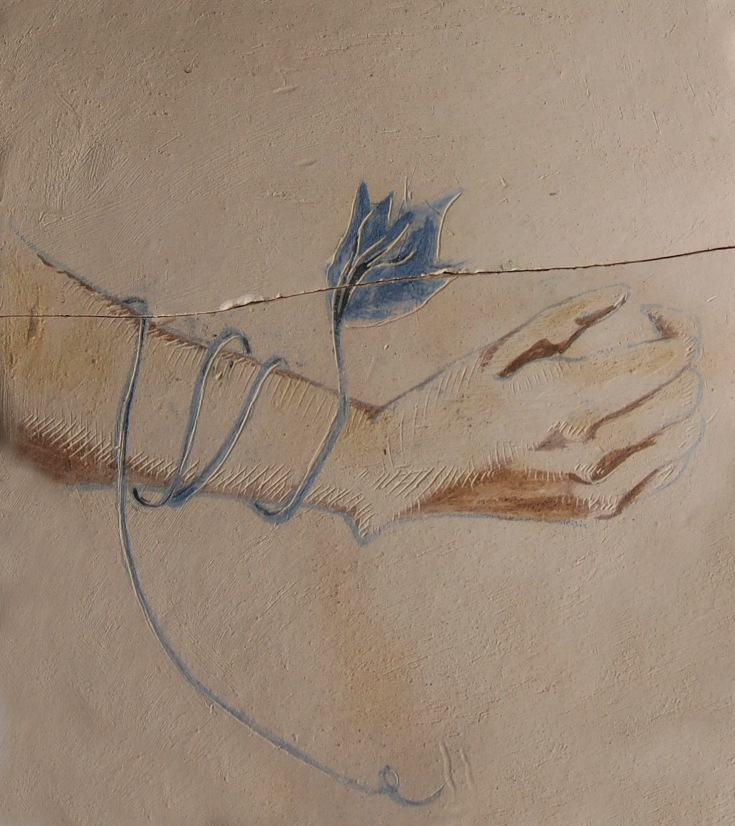 hand interlaced